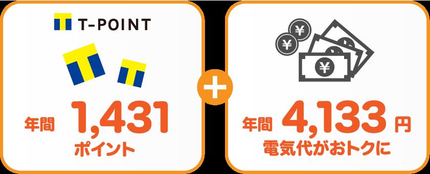 東京電力エナジーパートナー従量電灯BサミットエナジーTポイントプランの比較